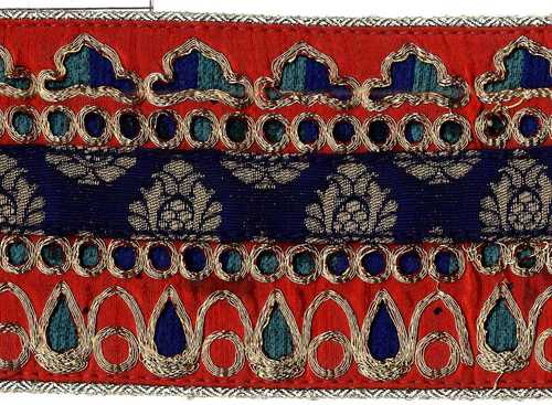 Pitta work Embroidery lace