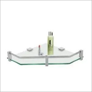 Bathroom Corner Glass Shelf