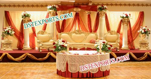 Asian Wedding Elegant Furniture