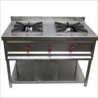 2 Burner Commercial Gas Stove