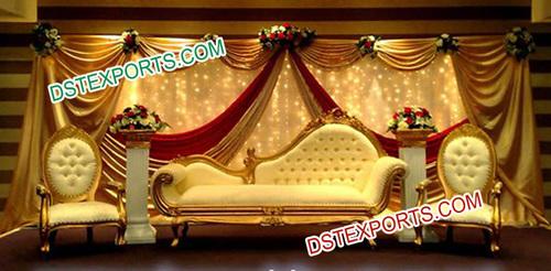 Muslim Shadi Stage Furniture /Italian Style Sofa