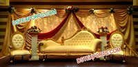 Muslim Shadi Stage Furniture /Italian Style Sofa