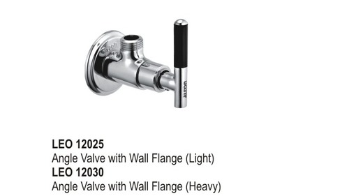 Algle Valve with Wall Flange