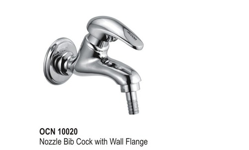Nozzel Big Cock with Wall Flange