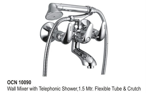 Wall mixer telephonic Shower,1.5 Mtr
