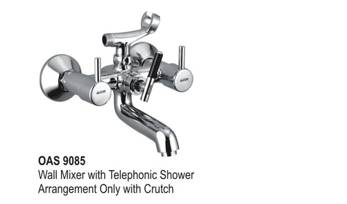 wall mixer with Telephonec Shower