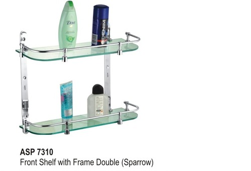 Front shelf with frame Double