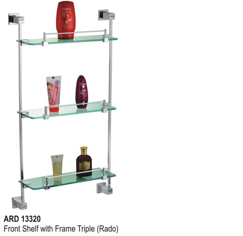 Front shelf with frame triple