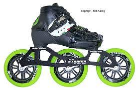 Luigino Strut Z Frame Inline Race Skates