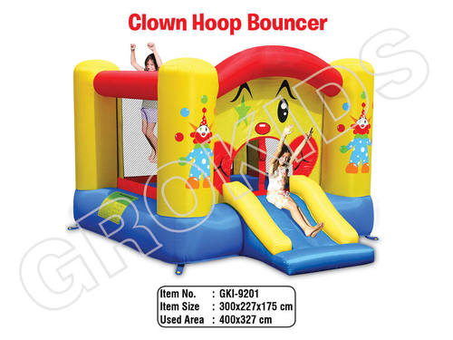 Clown Hoop Bouncer