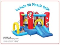 Bubble 4 in 1 Playcenter