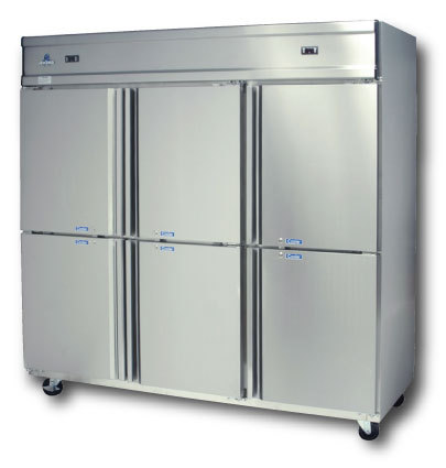Six Door Commercial Refrigerator