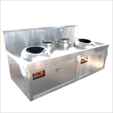 Four Burner Chinese Cooking Range