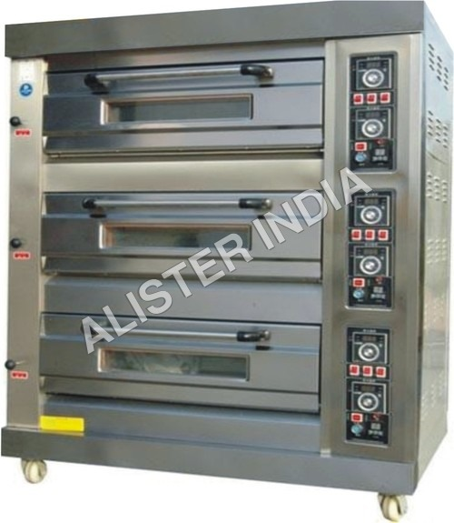 Three Deck Gas Pizza Ovens