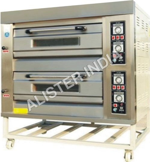Double Deck Gas Pizza Ovens