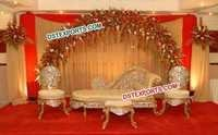 Asian Wedding New Walima Stage Furniture