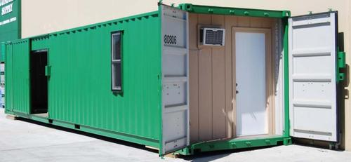 Portable Security Hut Container