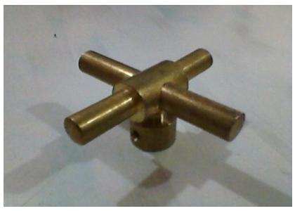 Brass Queen Handle