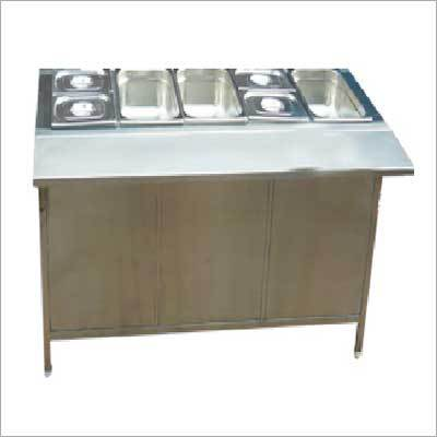 Bain Marie Display Counter Counter