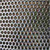 Round SS Perforated Sheet