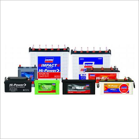 Hi-Power Tubular Batteries