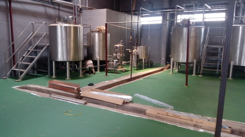 Beverage Storage Tank