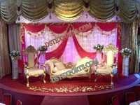 LATEST DESIGN ASIAN WEDDING FURNITURE
