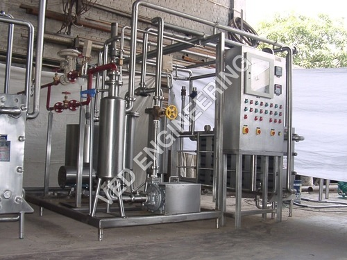 Pasteuriser Skid Mounted
