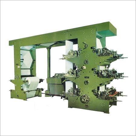 Colored Flexographic Printing Machine