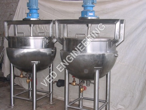 Steam Jacketed Pan