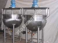 Steam Jacketed Pan for Ghee , Khoa, Cheese