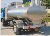 Water Tanker with Filtration system