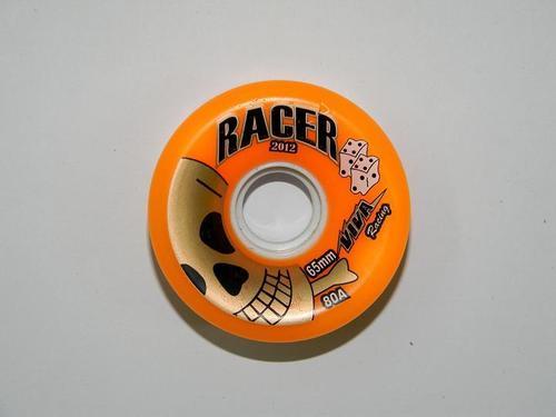 Skates Racer Wheels 65 mm 80A