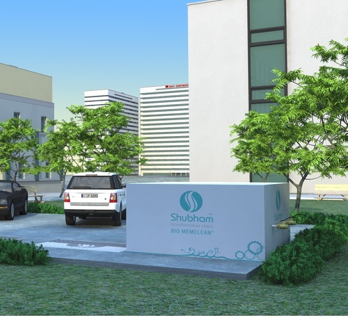 Sewage Treatment Plant for Hospital