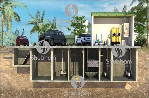 Sewage Treatment Plant for Residence
