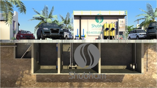 Activated Sludge Process in STP