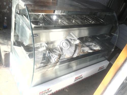 Hot food warmer with Bain Marie