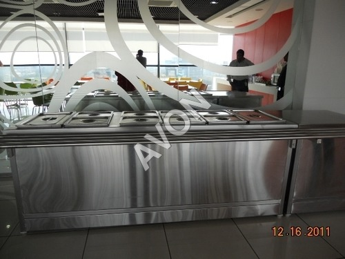 Hot Food Warmer with Self Service Provision