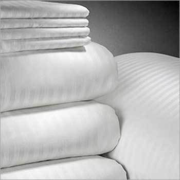 Satin Stripped Duvet Covers With Bedrunner