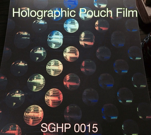 Holographic Thermal amination film