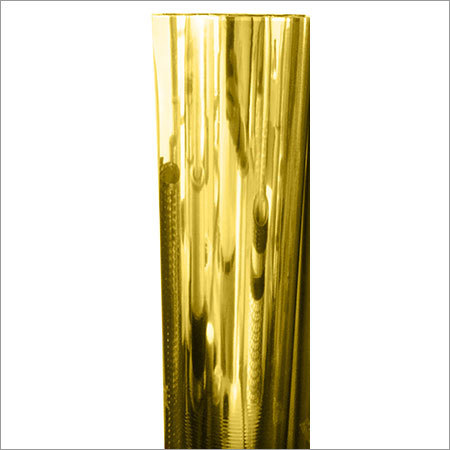lamination and decorative grade polyester film metalized gold