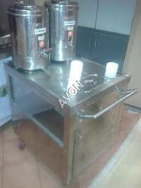 Tea Urn Trolly
