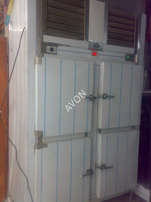 Four door deep freezer