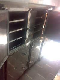 Vertical six door deep freezer with split unit