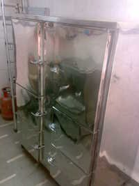 Vertical six door  freezer with split unit