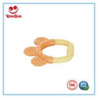 Cute Design Silicone Baby Teether