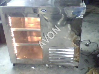 DISPLAY COOLER MACHINE for Dairy products