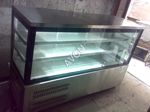 Pastry cooler cuboid(2+1) Static type