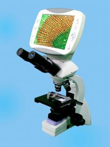 Series Compound Digital LCD Biological Microscope
