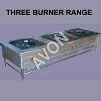 TABLE TOP THREE BURNER INDIAN COOKING RANGE